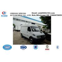 Buy cheap 2020s best price new IVECO 4*2 LHD diesel refrigerated minivan  for sale, Wholesale price 2tons IVECO cold room truck from wholesalers