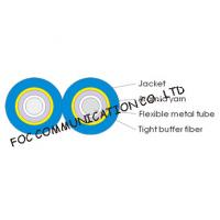 Buy cheap Armored Optical Fiber Cable Zipcord Duplex With Flexible Metal Tube from wholesalers