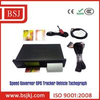 Buy cheap vehicle tracking gps tachograph digital tachograph with speed limiter from wholesalers