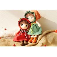 Buy cheap 25CM cloth dolls plush toys Unusual Holiday Gift , OEM Lovely Girl Stuffed Doll from wholesalers