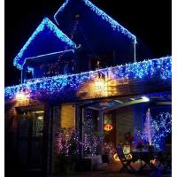 Buy cheap 5m 224LED outdoor dripping blue led icicle lights from wholesalers