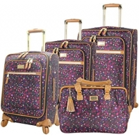 Buy cheap 4 Piece Softside Expandable Lightweight Spinner Suitcase Set product