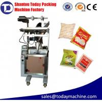 0-50g powder bag filing and packing machine with auger filler for washing powder/flour/coffee, by film/paper roll Manufactures