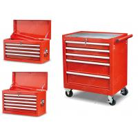 Buy cheap 27 Inches Tool Box Side Cabinet 5 Drawer Powder Coated Safe Packing For Auto Repairing from wholesalers