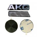 Buy cheap OEM / ODM Aluminum Self Adhesive Embossed Logo Sticker Metal Plate from wholesalers