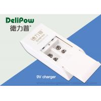 China Microphone 6f22 Recharge Battery Charger , Alkaline Battery Charger 2 Slots on sale