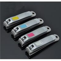 Brushed Stainless Steel Pearl Nickel Plated Finger or Toe Nail Clipper Manufactures