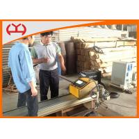 Buy cheap Stepper Motor Portable Mini Plasma Cutter , Steel Cutting Machine 200W With Fastcam Software from wholesalers