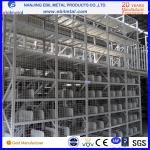 Buy cheap Galvanized metal mezzanine floor rack with steel grate floor from wholesalers