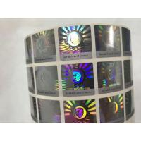 Buy cheap Anti Counterfeit 3D Holographic Stickers , Hologram Seal Stickers With Scratch Off Layer from wholesalers