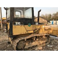 Buy cheap Enclosed Cabin Used Small Bulldozers CAT D3C XL 6 Way Blade Powershift Transmission from wholesalers
