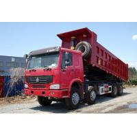 Buy cheap China famous HOWO 8*4 LHD/RHD 40tons dump tipper truck for sale, factory sale best price SINO TRUK HOWO tipper truck from wholesalers