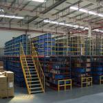 Buy cheap Heavy Duty Warehouse Multi-tier Racking Steel Mezzanine Floor Rack Platform System from wholesalers