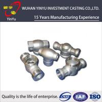 China Customized Carbon Steel Pipe Fittings By Investment Casting And CNC Machining Process on sale