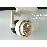 High power Spot led track lighting fixtures For Supermarket , White Manufactures