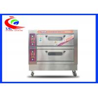 Buy cheap Commercial Baking Equipment / Oven for Electric Fast Food Pizza Oven with wheel from wholesalers