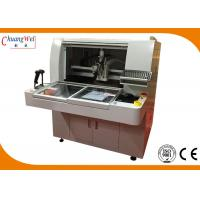 Buy cheap PCB Depanelizer PCB Router Machine with Smart Software Gerber Imported Function from wholesalers