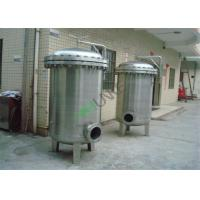 Buy cheap Stainless Steel Bag Filter Vessel Tank With SS304 / SS316 Material For Filtration System from wholesalers