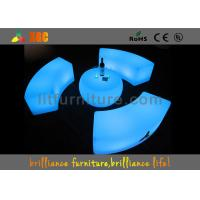 LED Plastic Lighting Coffee Table , Waterproof Light Bar Chair Manufactures