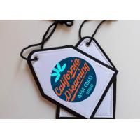 Buy cheap Dye Sublimation Blank Car Freshener Hanger Tag For Personalized Printing from wholesalers