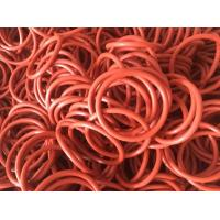 Buy cheap 40 - 85 Shore Colored Silicone O Rings Ozone Resistance For Industrial Equipment from wholesalers