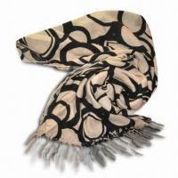Wholesale Fashionable Women's Scarf, Made of Rayon, Available in Weight 180g from china suppliers