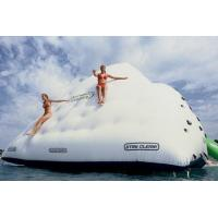 Buy cheap Custom Hot Air Welding Workmanship 3 Sides Climbing Wall Inflatable Iceberg from wholesalers