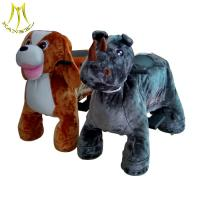Buy cheap Hansel coin operated zebra plush ride on animal costume rides new shopping mall games & machines from wholesalers