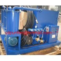 Buy cheap Hydraulic oil flushing system,fuel oil seperator, light oil purifier,diesel oil cleaner with high pressure pump from wholesalers
