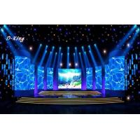 Wholesale HD P8 Stage Background LED Screen With 1R1G1B SMD0805 , Module Size 256*128mm from china suppliers