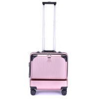 Wholesale Airplane Trolley Abs Business Travel Cabin Suitcase from china suppliers