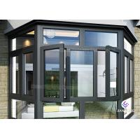 Buy cheap Powder Coating Frames Aluminium Windows And Doors With Mosquito Nets from wholesalers