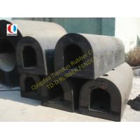 Boat D Type Loading Dock Rubber Bumpers Semi-circular ISO90001 Manufactures