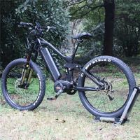 Buy cheap 27.5 Inch Electric Fat Tire Mountain Bike 1000w 48v With BAFANG Middle Motor from wholesalers