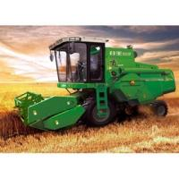 Buy cheap 125HP Used Detrnk Mini Wheat Harvesting Machine With Strong Bearing Capacity from wholesalers