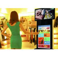 China 58 inch color standing led tv display coffee machine , digital advertising display screens on sale