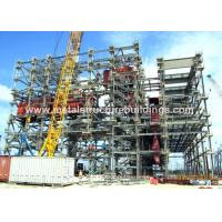 Precision Metal Prefabricated Steel Structures Mild Steel Fabrication For Industrial Fields Manufactures