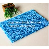 Buy cheap Top quality  water absorbent microfiber chenille non-slip floor bath mat from wholesalers