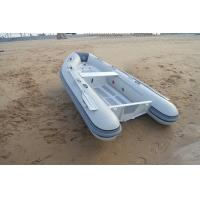 Wholesale Front Locker Aluminum Rib Boat double layer flat bottom PVC or Orca Hypalon tube from china suppliers