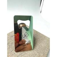 Buy cheap Beer Bottle Opener Business Card With Custom Logo /  Wallet Metal Credit Cards from wholesalers