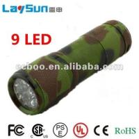 9led aluminum alloy flashlight&torch 6 led aluminum flashlight with CE ROHS UL certificate ningbo manufacture Manufactures