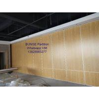 Buy cheap Melamine Finished MDF Board Folding Partition Walls Width 500mm - 1230mm from wholesalers