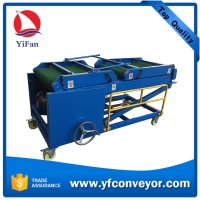 Wholesale Ningbo Yifan Portable Truck Loading Conveyor for loading unloading goods in warehouse from china suppliers