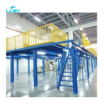 Buy cheap 2000kgs Loading Industrial Mezzanine Floors Steel Platform Multi Tier Racking from wholesalers