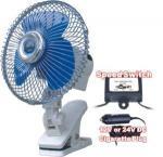 Buy cheap 12V/24V DC Car Oscillating Fan from wholesalers