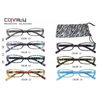 Buy cheap Dark Color Bifocal Reading Glasses 2.00 For Unisex , Narrow Oval Shaped Optical Frame from wholesalers