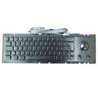 Buy cheap MKT2752 372.0x102.0mm kiosk metal keyboard with Cherry mechanic key switch from wholesalers