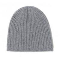Buy cheap Comfortable Mens Cashmere Beanie Hat , Character Rib Knit Hat For Winter from wholesalers