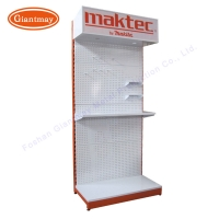 Buy cheap Pegboard Metal with hanging hooks Stand Hardware Display from wholesalers