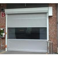 Buy cheap Industrial Automatic PVC Fabric High Speed Performance Fast Acting Rapid Rise Overhead Quick Roll up door from wholesalers